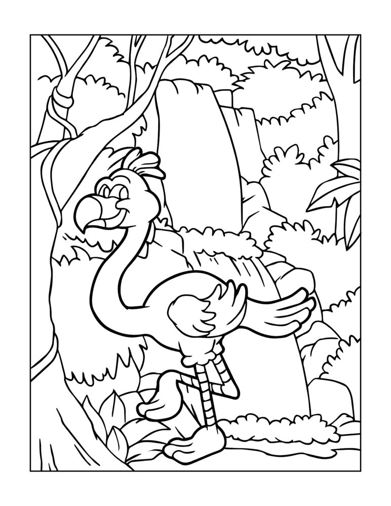 - Zoo Animal Coloring Page 3 -
