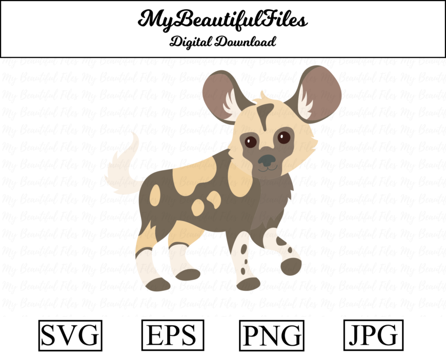 African wild dog cover